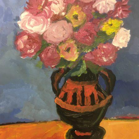 Oeuvre peinte par un jeune (année scolaire 2019/2020)