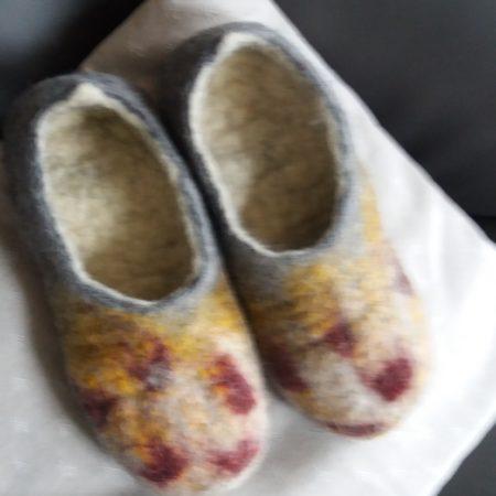 chaussons en feutrage